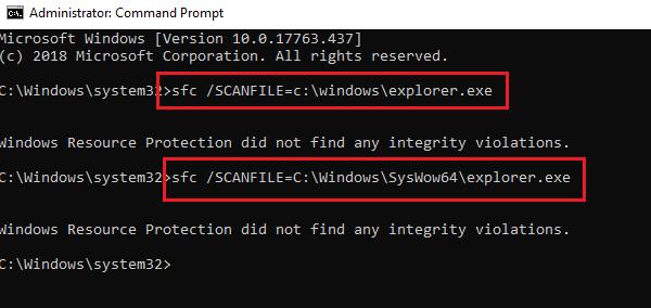 La operación no se ha completado correctamente porque el archivo contiene un virus 8