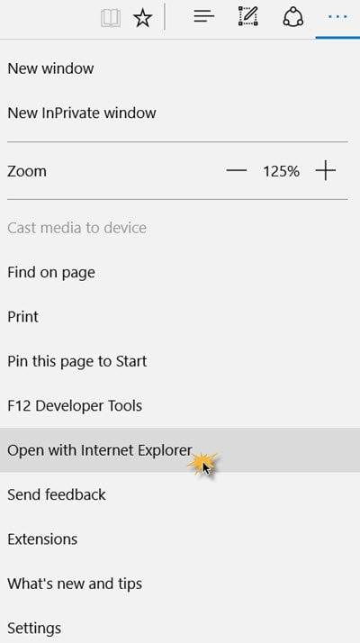 ¿Se puede habilitar o utilizar la Vista de compatibilidad en el explorador Microsoft Edge?