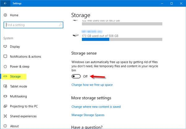 Windows Update No hay suficiente espacio en disco - Problemas de espacio de almacenamiento reducido 2