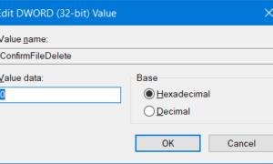 Habilitar, deshabilitar el cuadro de confirmación de eliminación para la papelera de reciclaje en Windows 10/8/7