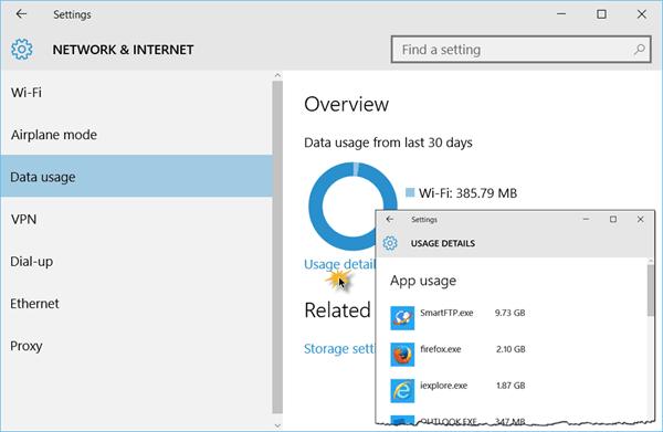 Cómo rastrear y conservar el uso de datos 3G y LTE en Windows 10