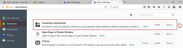 El objetivo de Firefox Containers es proteger la identidad en línea