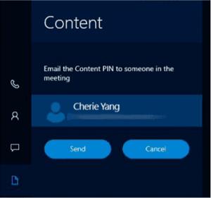 Cómo acceder al contenido adjunto a una invitación a una reunión en Surface Hub