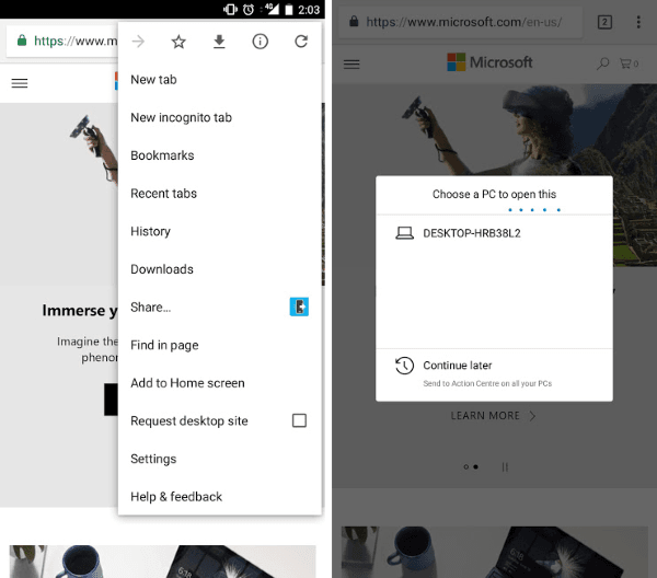Cómo vincular un teléfono Android o iPhone a un PC con Windows 10 4