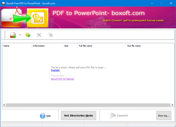 Software gratuito y herramientas en línea para convertir PDF a PPT (PowerPoint)