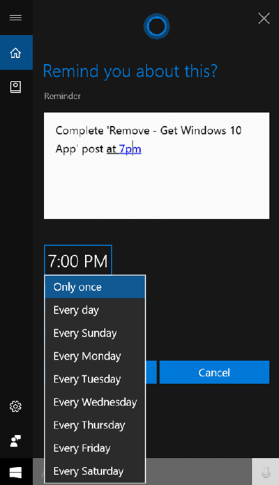 Cómo usar Windows 10 Sticky Notes para crear recordatorios Cortana