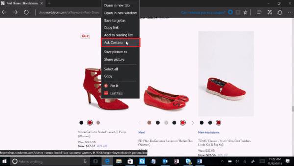 Utiliza Cortana para hacer más fácil la compra de Navidad en Windows 10 1