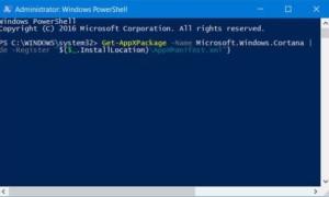 Búsqueda en Cortana o Windows 10 sin encontrar aplicaciones o archivos de escritorio