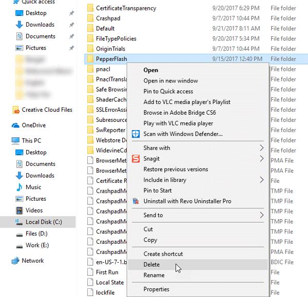 No se pudo cargar el plugin Chrome en Windows 10/8/7
