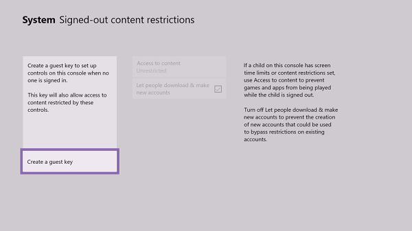Cómo crear y administrar una cuenta de invitado de Xbox en la consola
