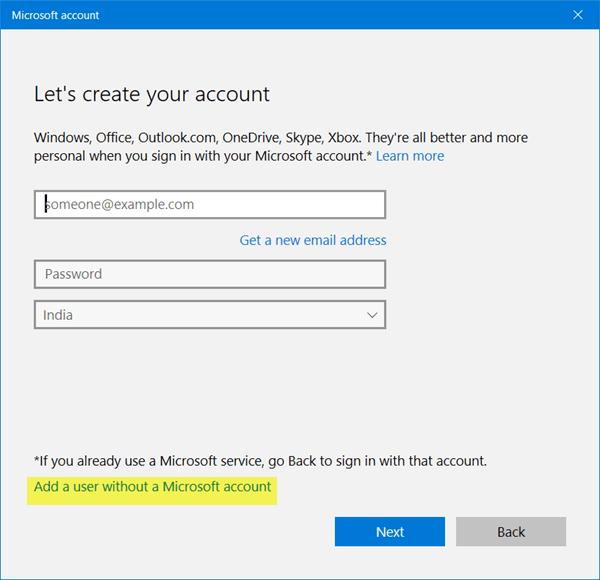 Cómo crear una nueva cuenta de usuario en Windows 10/8.1 6
