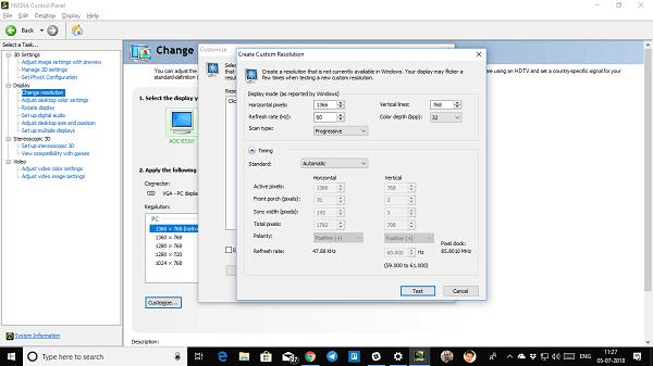 No se puede cambiar la resolución de pantalla en Windows 10 3
