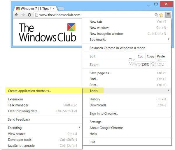 Crea una aplicación de escritorio de tu sitio web favorito con Chrome 1