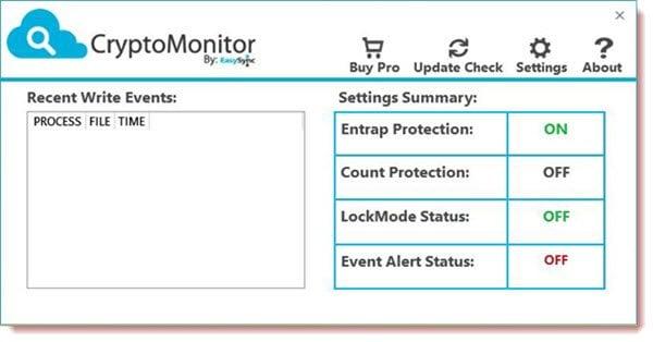 CryptoMonitor: Herramienta gratuita de protección y prevención de ransomware