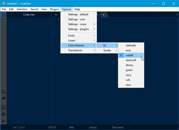CudaText es un editor de código gratuito para programadores de Windows
