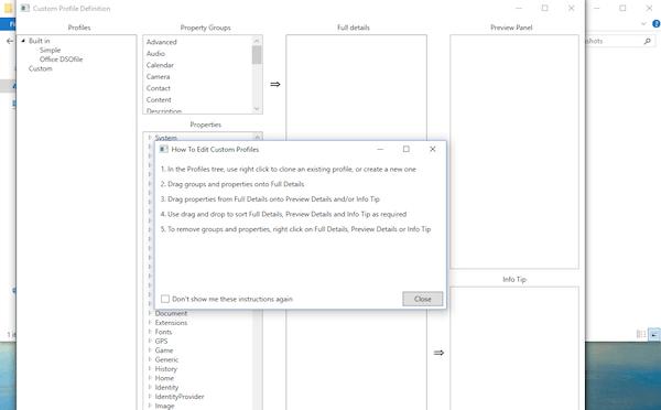 Cómo habilitar las etiquetas para archivos no compatibles en Windows 10