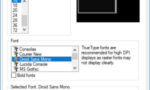 Cómo agregar fuentes personalizadas al Símbolo del sistema operativo en Windows 10