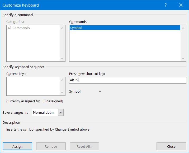 Cómo insertar el símbolo de grado en Windows 10
