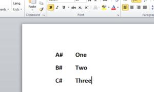 Cómo cambiar la lista numerada por defecto en Word