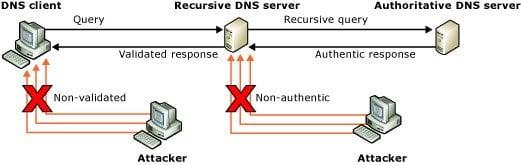Envenenamiento y spoofing de la caché del DNS