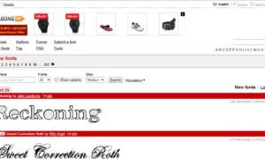 Descarga gratuita de fuentes, para logotipos y uso comercial