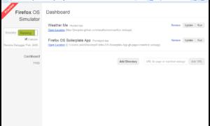 Ejecute el sistema operativo Firefox en un PC con Windows con Simulador