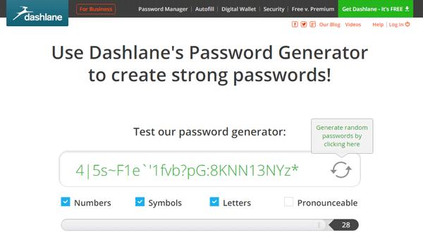 Generador de contraseñas en línea seguro y gratuito para crear contraseñas aleatorias 4