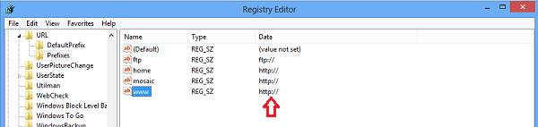 La barra de direcciones de Internet Explorer se completa automáticamente http:// no funciona