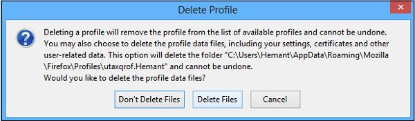 Administrador de perfiles de usuario de Firefox: Creación y gestión de múltiples perfiles de usuario