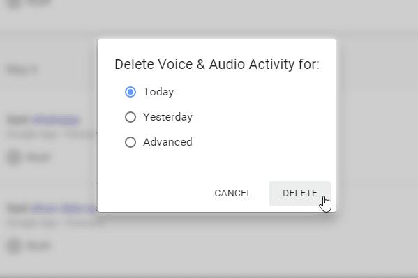 Cómo eliminar los comandos de voz de Google Now grabados