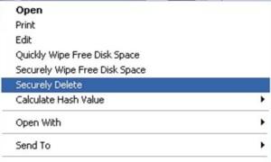 Borra archivos y carpetas de forma segura con DeleteOnClick