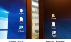 Mejoras en la escalabilidad de DPI en Windows 10