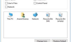 Los iconos del escritorio se reorganizan y se mueven después de reiniciar en Windows 10