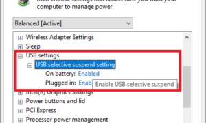 ¿Qué es la función USB Selective Suspend? ¿Cómo habilitarlo o deshabilitarlo?
