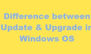 ¿Cuál es la diferencia entre Windows Update y Upgrade?
