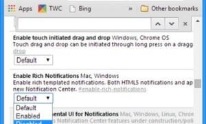 Desactivar las notificaciones del icono de Google Now Bell sobre Chrome en la barra de tareas de Windows 8