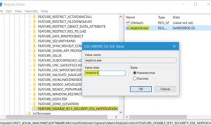 Cómo deshabilitar la notificación de actualización de Internet Explorer al final de su vida útil