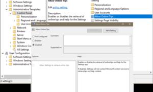 Cómo deshabilitar y detener los consejos y vídeos en línea en la configuración de Windows 10