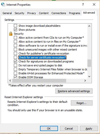El certificado del servidor ha sido revocado ERR_CERT_REVOKED! ¿Y ahora qué?