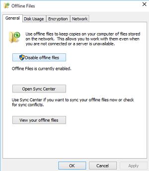 Cómo configurar archivos usando el Centro de sincronización de Windows en Windows 10 2