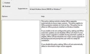 Desactivar RECIBIR LA NUEVA Notificación de OFICINA y Actualizar a notificaciones de Office