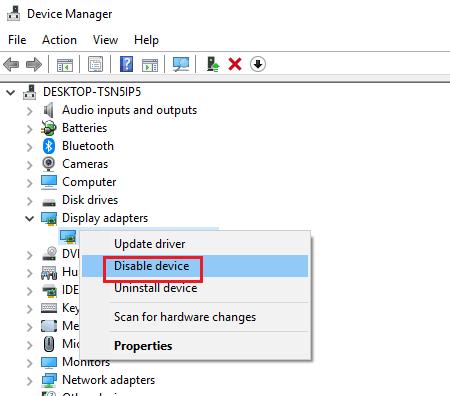 El ordenador con Windows no reconoce la segunda GPU