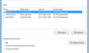 Explicación del Desfragmentador de disco en Windows 10/8/7