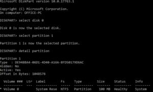 Cómo reflejar el Arranque del Disco Duro para UEFI en Windows 10