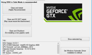 Corrección para el código de error 0x0001 de NVIDIA GeForce Experience