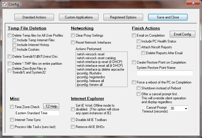 Cree su propia herramienta de mantenimiento y optimización de Windows con dMaintenance