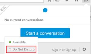 Cómo usar e iniciar una conversación usando Firefox Hola