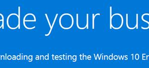 Descargue gratis la versión de prueba de Windows 10 Enterprise