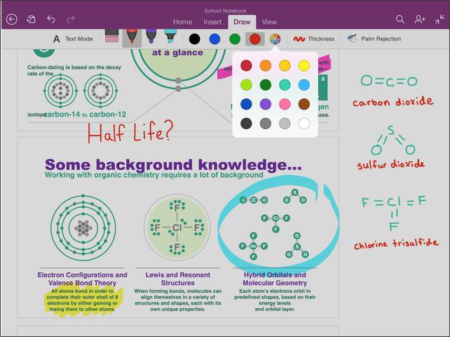Cómo usar las funciones de escritura a mano y OCR de OneNote en el iPad 2