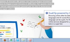 DualClip Translator para Windows: Desarrollado por Microsoft y Google
